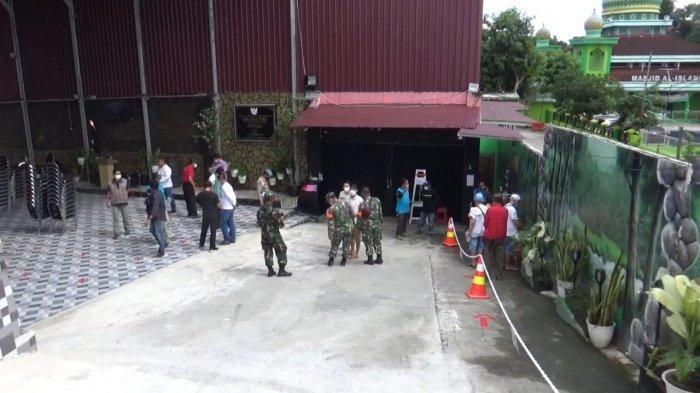 Distop Sementara oleh Satgas Covid, Graha YHS Martadinata Balikpapan Dipantau Polsek