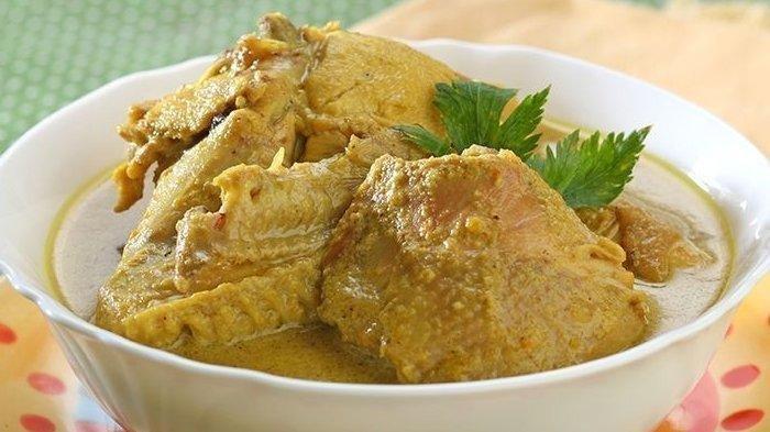 Menu Lebaran, 5 Resep Opor Ayam Penggugah Selera, Opor Kuning, Pedas hingga Opor Ayam Jinten