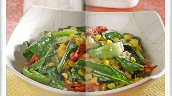 Cara Bikin Oseng Horenso Jagung Super Enak, Menu Simpel untuk Makan Siang Hari ini
