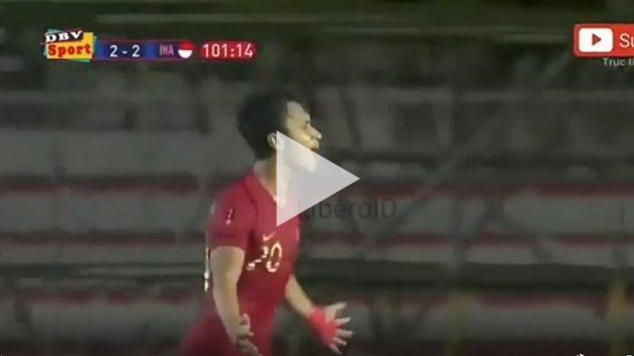 Cuplikan Gol Osvaldo Haay ke Gawang Myanmar Skor 3-2, Buka Kans Timnas U23 Indonesia ke Final
