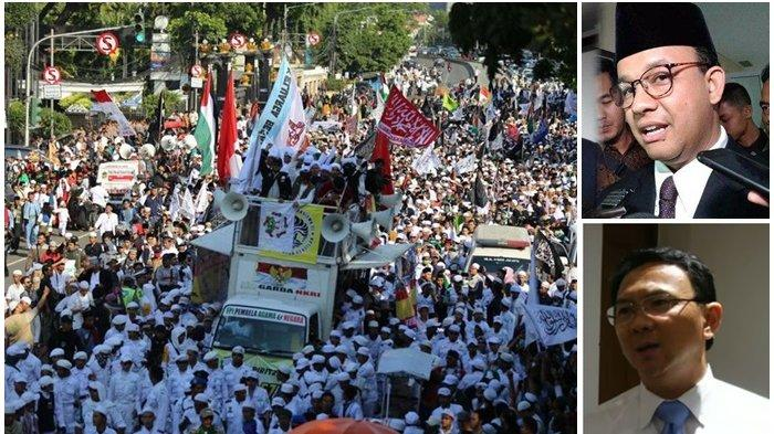 Reuni Akbar 212 Kembali Digelar, Ini Bedanya Era Gubernur Anies dan Ahok, Satu Soal Kehadiran Jokowi