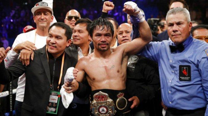 Sang Putra Ikuti Jejaknya Bertinju, Manny Pacquiao: Ini Menyakitkan bagi Saya
