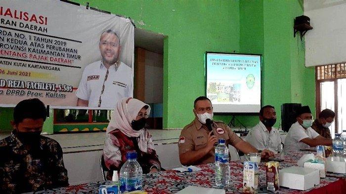 Ketaatan Wajib Pajak Wujudkan Kesejahteraan Masyarakat, Akhmed Reza Fachlevi Sosialisasikan Perda