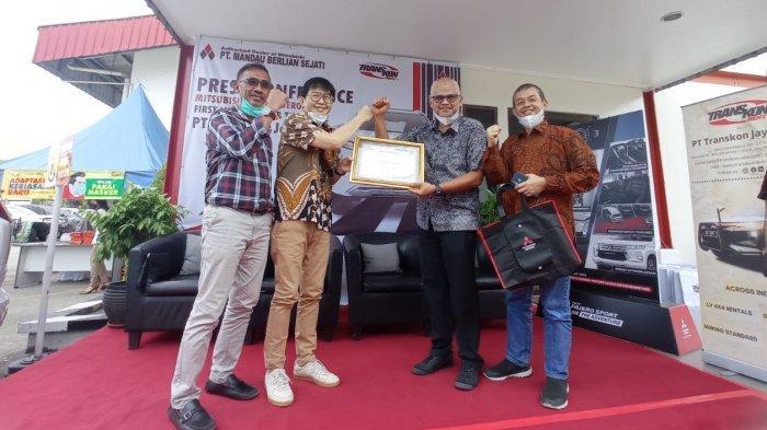 Kenalkan New Pajero Sport dan Test Drive, 92 Persen Armada Transkon Jaya Pakai Mitsubishi