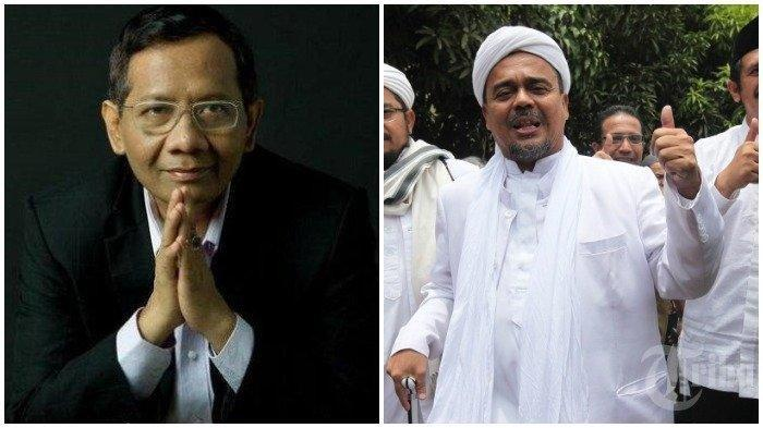 Mahfud MD Sebut Rizieq Shihab Bisa Pulang ke Tanah Air, Juga Singgung soal Kelanjutan Proses Hukum