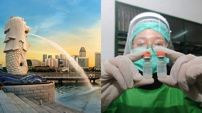 Terbukti Ampuh Cegah Covid-19, Singapura Ikuti Indonesia, Akui Warganya yang Gunakan Vaksin Sinovac