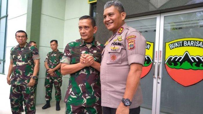 Kondisi Terkini Kapolsek dan Anak Buah yang Jadi Korban Bentrok TNI vs Polisi, Danrem Jenguk Warga