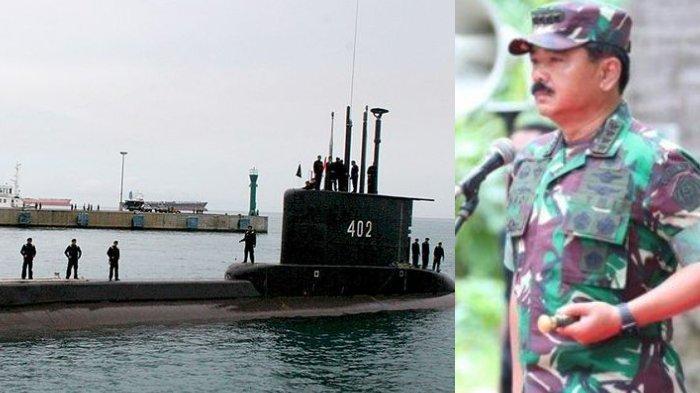 Terjawab Lokasi Hilangnya Kapal Selam KRI Nanggala-402, Panglima TNI Minta Bantu Australia-Singapura