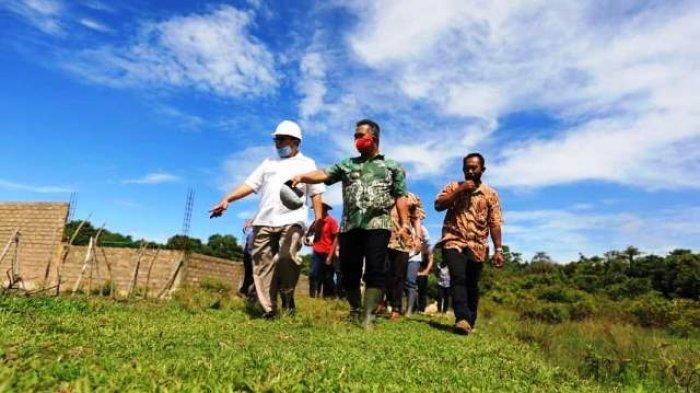 Walikota Khairul Tinjau Progres Penataan Kawasan Pantai Amal Tarakan