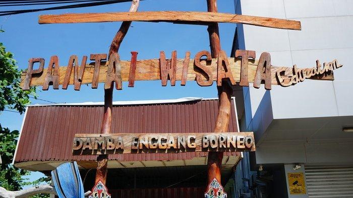 Menyusuri Pantai Wisata Damba Enggang Borneo Balikpapan, Indahnya Biota Laut di Pesisir Tengah Kota!