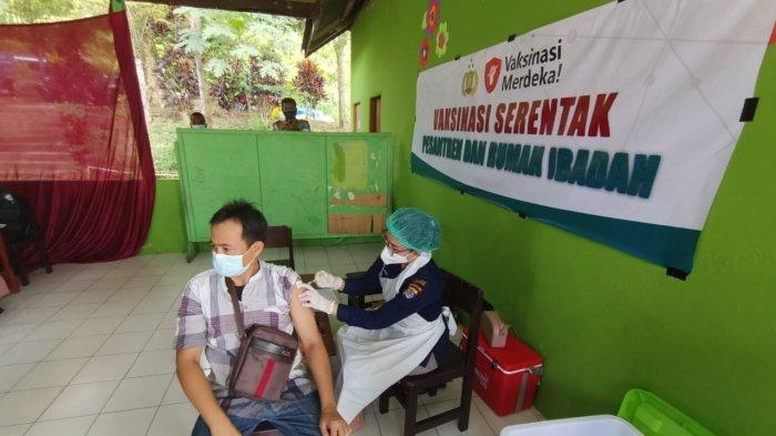 Inilah Realisasi Vaksinasi Covid-19 Polres Tarakan, Tanjung Pasir dan Binalatung Sasaran Berikutnya