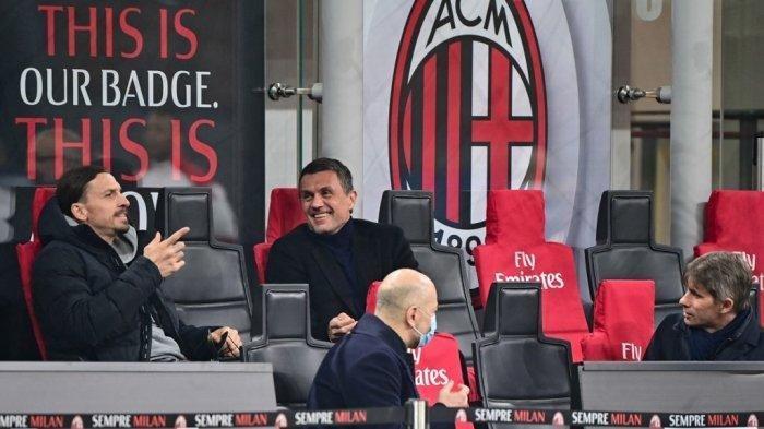 Update Liga Italia, Akhirnya Maldini Bicara Nasib Pioli dan Rencana AC Milan di Akhir Musim Serie A