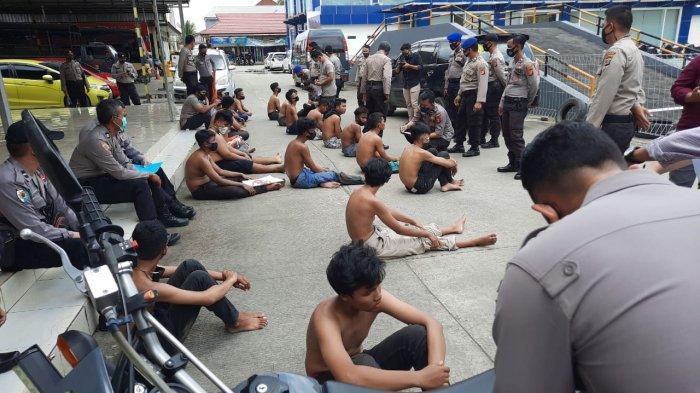 Pelajar yang Diamankan Polisi dalam Demo Tolak UU Cipta Kerja di Samarinda Sudah Dipulangkan