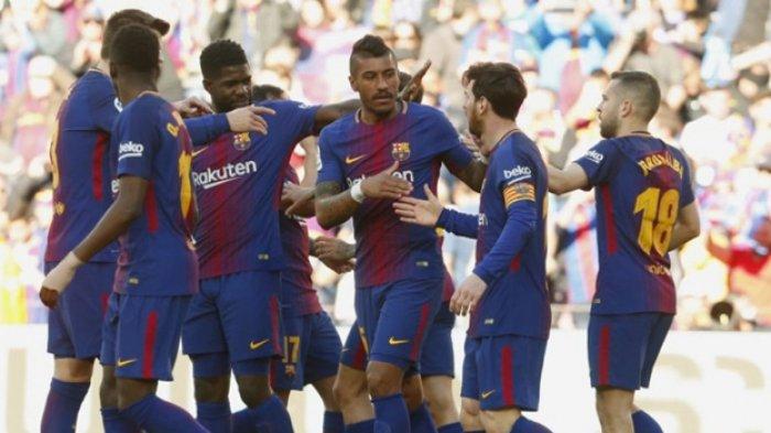 Barcelona Vs Athletic Bilbao, Tanpa Luis Suarez, El Barca Taklukkan Bilbao, Messi Pamer Goyangan
