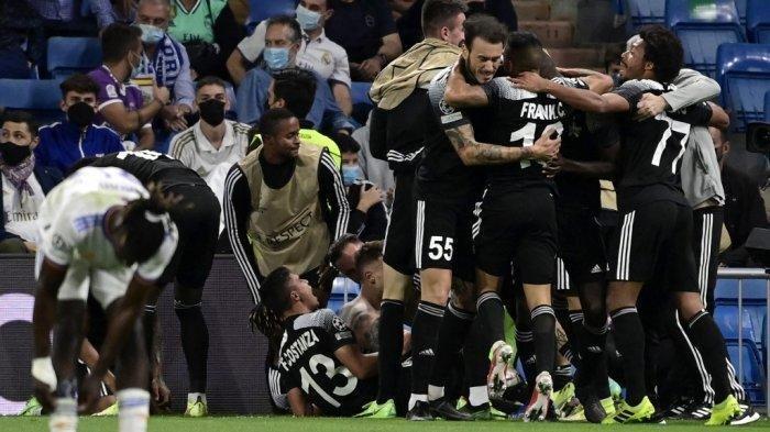 Hasil Liga Champions, Secara Mengejutkan Sheriff Tiraspol Pecundangi Real Madrid di Kandang Sendiri