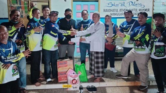 Ulang Tahun Ke-4, Max Borneo Community Balikpapan Gelar Baksos dan Syukuran