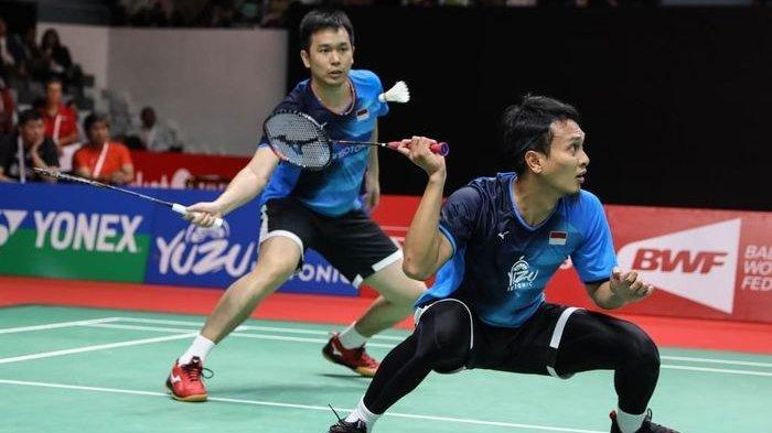 Pertarungan Derby di Semifinal Indonesia Masters 2020, Fajar/Rian Bakal Hadapi The Daddies