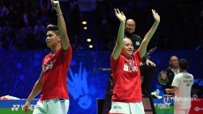SERU AKSI PRAVEEN/MELATI! Link Live Streaming Badminton Thailand Open 2021, TVRI Sport Live