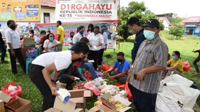 Korpri Kubar Gelar Pasar Murah Khusus PNS, TKK dan PTT di Tujuh Kecamatan