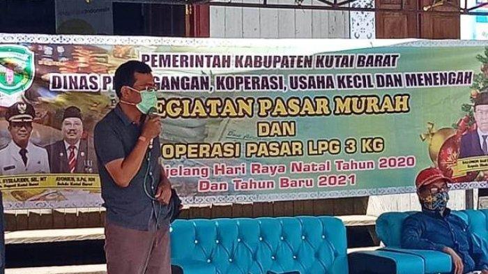 Disdagkop Kubar Gelar Pasar Murah di Tiga Kecamatan, Jaga Stabilitas Harga Jelang Natal-Tahun Baru