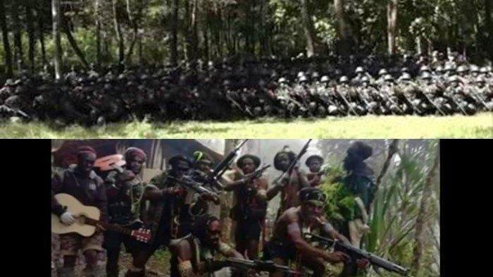 Pentolan KKB Egianus Kogeya Meradang Markasnya Diobrak-abrik TNI-Polri: Medan Perang Milik Kami!