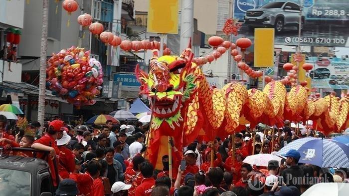 Besok 26 Februari 2021 Cap Go Meh, Tradisi Barongsai, Liong, Tatung hingga Bagi-bagi Kue Keranjang