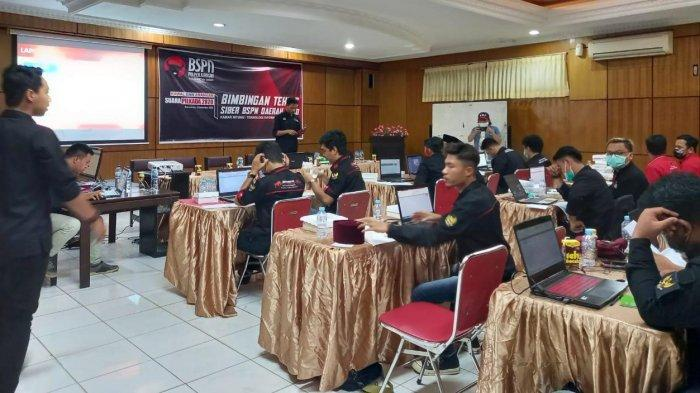 Kawal Suara di Pilkada Serentak 2020, PDIP Kaltim Gelar Bimtek Siber Tim BSPN