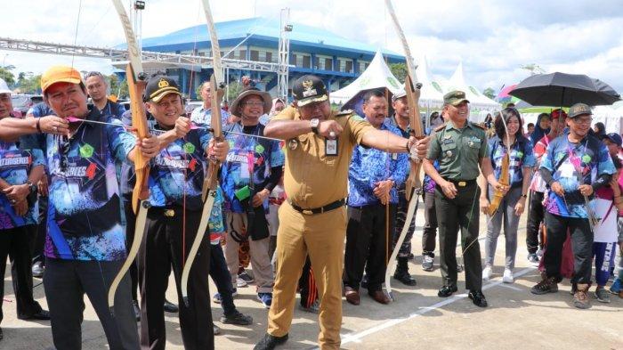 Kaltim Series 4 Dimulai dan Dibuka Wakil Bupati Kasmidi Bulang, 538 Atlet Panahan Ikut Ambil Bagian