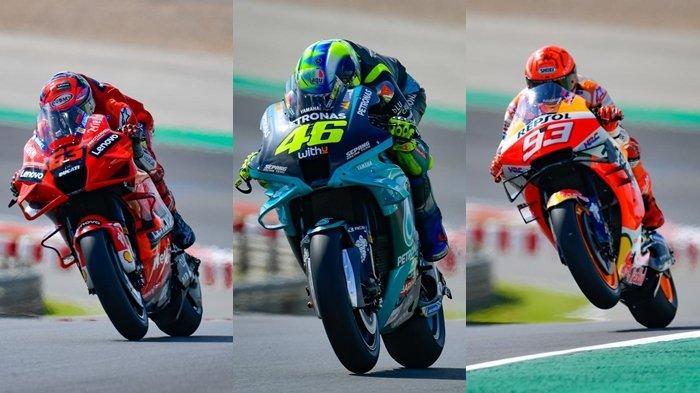 Jadwal MotoGP 2021: Hasil FP1 & FP2 MotoGP Portugal, Murid Rossi Tercepat, Marquez Tak Mengecewakan