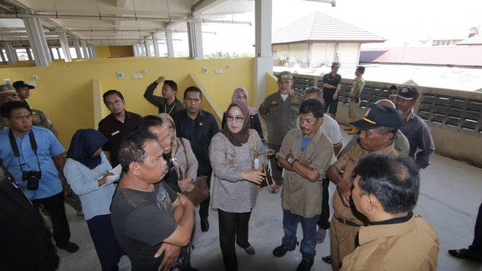 PKL Depan Pasar Pandansari Sulit Ditertibkan, Pedagang Bilang Banyak Oknum Bermain