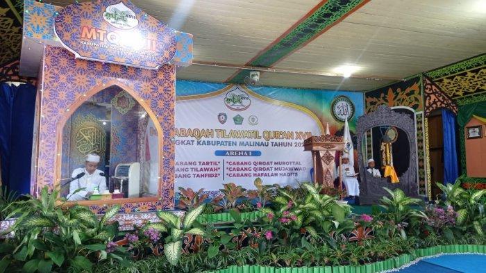 Hari Keempat MTQ Ke-17 Malinau, Cabang Tahfiz dan Tilawah Sementara Berlangsung di Arena Utama