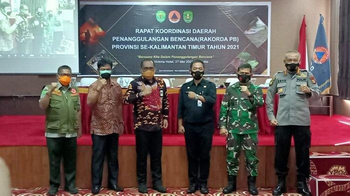 Kabupaten Kutim Jadi Tuan Rumah Rakorda Penanggulangan Bencana se-Kaltim
