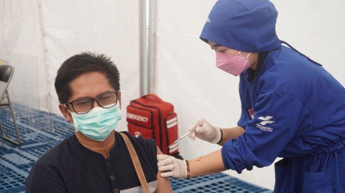 Jalankan Vaksinasi Gotong Royong, Pertamina RU Balikpapan Target 1.200 Peserta