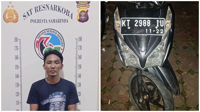 Residivis Narkoba di Kota Samarinda Kembali Beraksi, Pelaku Buang Ponsel saat Didatangi Polisi