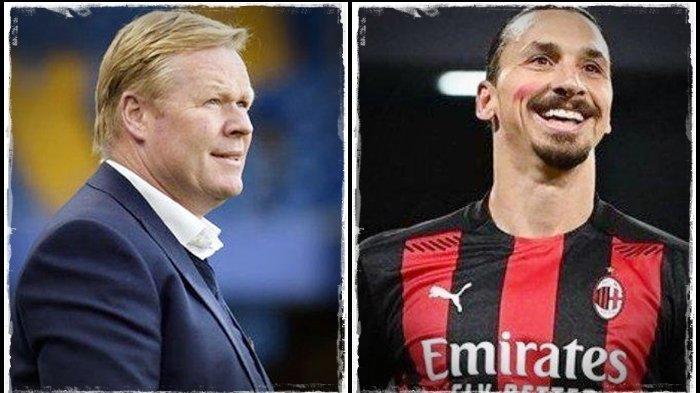 Jelang Laga Sevilla vs Barcelona, Koeman tak Sangka Dapat Pertanyaan Ini, Sebut Nama Bomber AC Milan