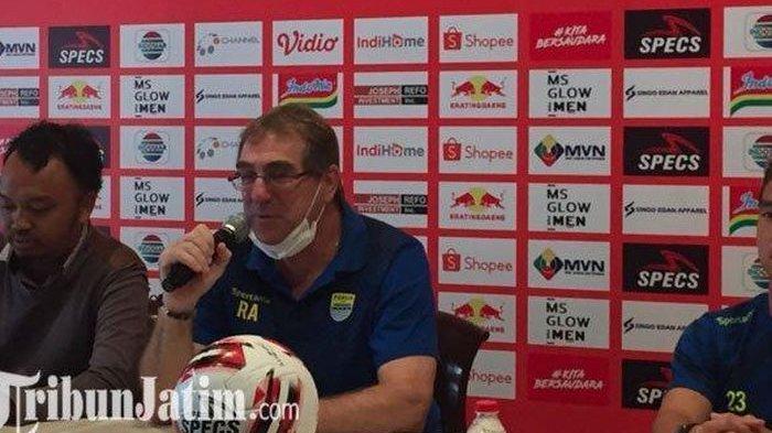Bungkam Mario Gomez Arema FC, Robert Alberts Siap Kalahkan eks Pelatih Persib Lain di Depan Bobotoh