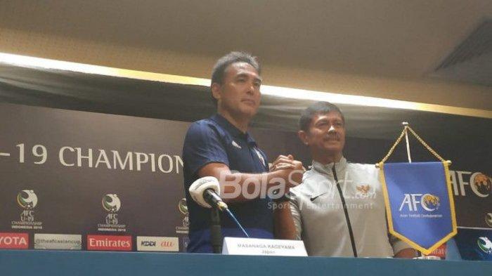 Piala Asia U 19 - Indra Sjafri Optimistis Skuat U-19 Indonesia Kalahkan Jepang di Perempat Final