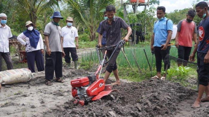 Kantor Perwakilan Bank Indonesia Balikpapan melaksanakan rangkaian pelatihan pertanian organik dengan teknologi Microbacter Alfafa-11 (MA-11) serta sosialisasi korporatisasi dan akses permodalan pada tanggal 20 hingga 24 Maret 2021. (HO)