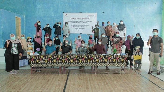 PHKT Gelar Pelatihan Kreasi Daur Ulang Sampah di Kecamatan Marangkayu