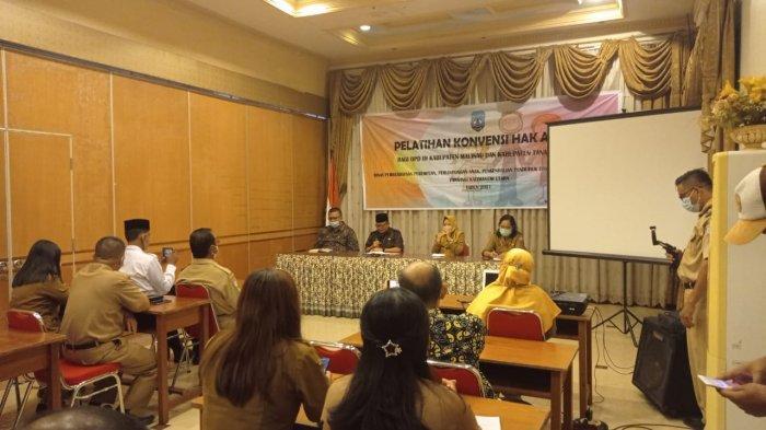 Jamin Terpenuhinya Hak-hak Anak di Kaltara, OPD di KTT dan Malinau Dibekali Implementasi KHA