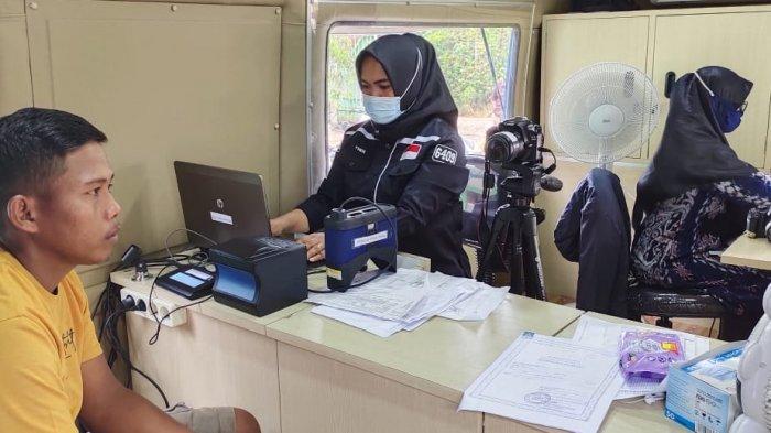 Disdukcapil PPU Jadwalkan Pelayanan Keliling di Kelurahan Mentawir Sepaku