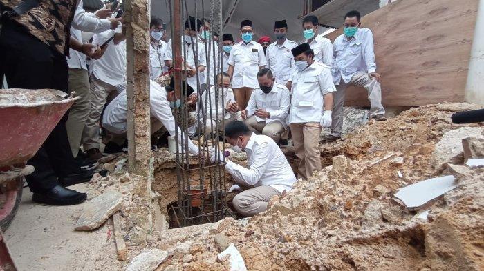 Andi Harun Hadiri Peletakan Batu Pertama Kantor Sekretariat DPC Gerindra Bontang