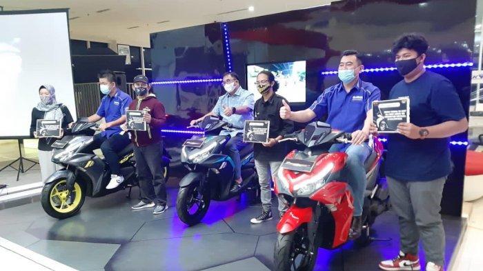All New Aerox Diluncurkan di Balikpapan, Matic Premium Jadi Market Leader