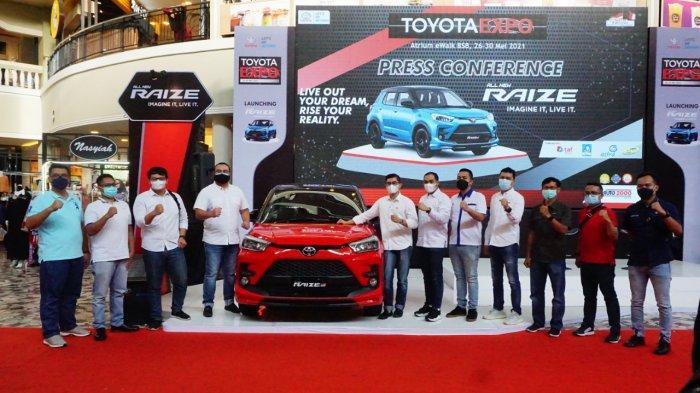 50 Tahun Layani Pelanggan di Indonesia, Toyota Luncurkan Raize Sebagai Pilihan di Segmen SUV