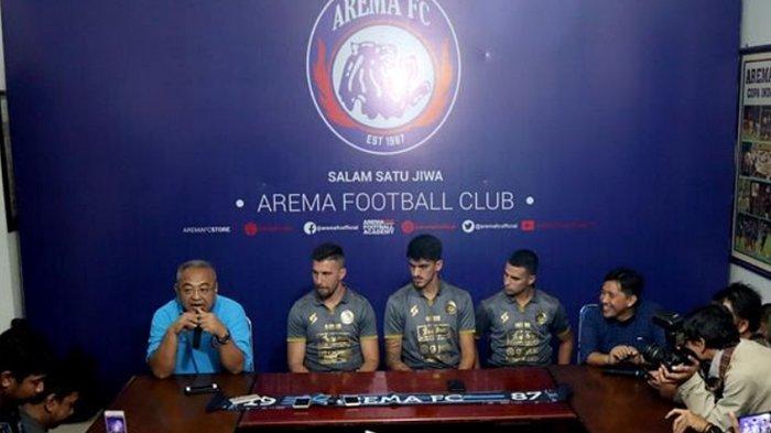 Kabar Buruk Aremania, Dua Pemain Asing Arema FC Cedera Jelang Liga 1 2020, Kondisi Jonathan Bauman?