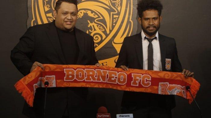 Hengkang dari Persipura Jayapura dan Bergabung dengan Borneo FC Ini Alasan Imanuel Wanggai