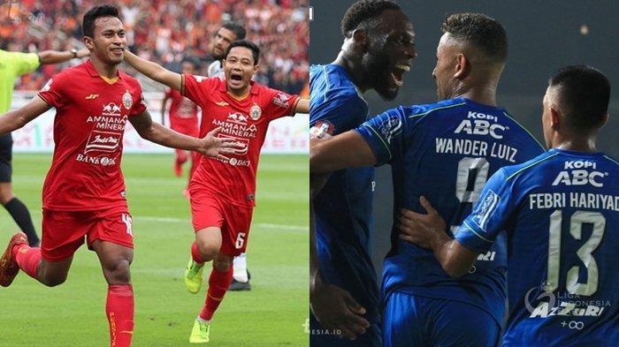 Top Skor Sementara Liga 1 2020, Pemain Baru Persija & Persib Bandung Kompak Cetak Gol di Laga Debut