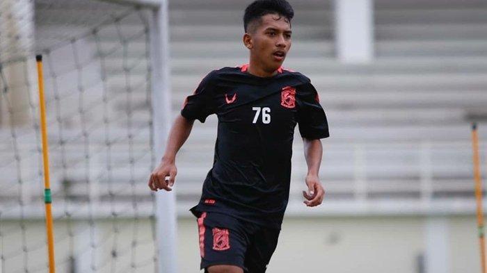 Arya Gerryan di Borneo FC.