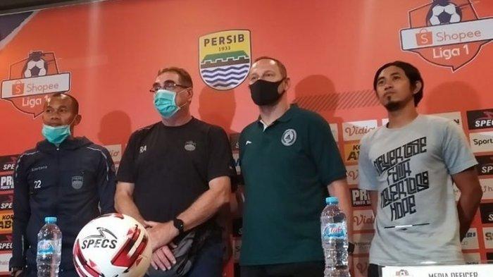 Laga Persib vs PSS Sleman Saat Corona Meluas Buat Ridwan Kamil Khawatir, Ini Kata Pelatih dan Kapten