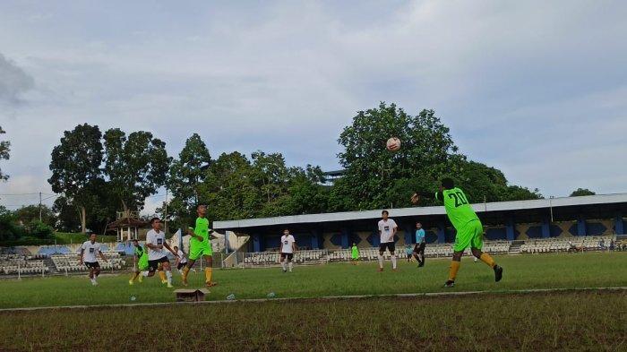 Gelar Uji Coba di Stadion Rondong Demang, Sementara Mitra Kukar Kalah 1-2 Lawan IR-1